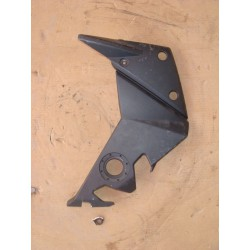Cache cadre gauche noir pour Z750 07-14