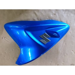 Coque de resrevoir bleu gauche 600/750 GSXR 2011 à 2016