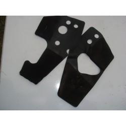 2 Caoutchoucs de protection pour 600 CBR RR 07-08