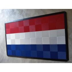 Tapis de sol dalles drapeau FRANCE 2m12 x 1m32