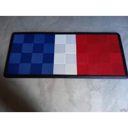Tapis de sol dalles drapeau FRANCE 2m12 x 0m92