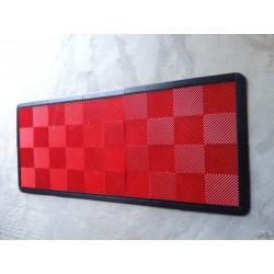 Tapis de sol dalles rouge 2m12 x 0m92