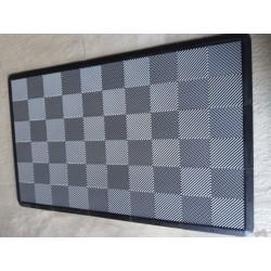 Tapis de sol dalles uni gris clair 2m12 x 1m32