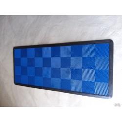 Tapis de sol dalles bleu 2m12 x 0m92