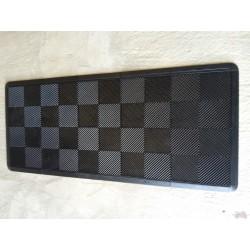 Tapis de sol dalles noir 2m12 x 0m92