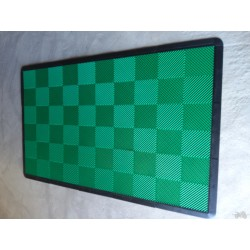 Tapis de sol dalles uni vert 2m12 x 1m32