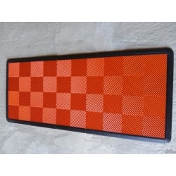 Tapis de sol dalles orange 2m12 x 0m92