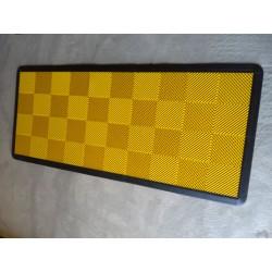 Tapis de sol dalles jaune 2m12 x 0m92