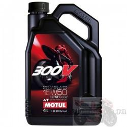 Huile moteur 300V MOTUL 4T 15W50 4L