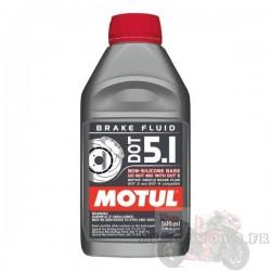 Liquide de frein DOT 5.1 MOTUL 500ML