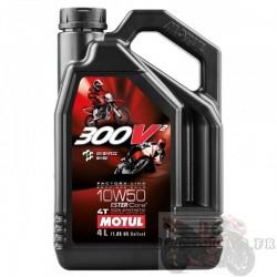 Huile moteur 300V2 MOTUL 4T 10W50 4L