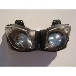 Optique pour ZX6R 2009 à 2012