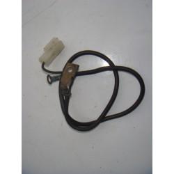 Fil de batterie noir pour FZ6 04-06