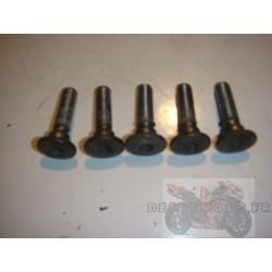 5 Vis de disque de frein arrière pour ER6 06-08