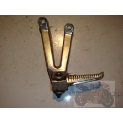Platine arrière gauche frottée pour R1 98-99
