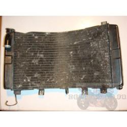 Radiateur tordu pour 1300 GSXR HAYABUSA 99-07