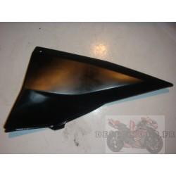 Cache sous selle droit noir Z1000 2003-2006
