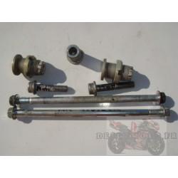 Fixations moteur de 600 et 750 GSXR 06/07