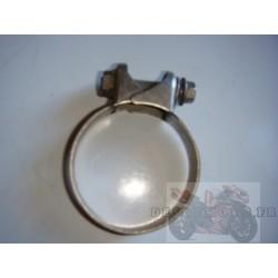 Collier d'échappement inox 54 à 57 mm
