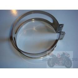Collier d'échappement inox 110 mm