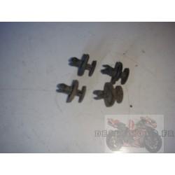 Clips de fixation sabot ZX10R 2004 à 2005