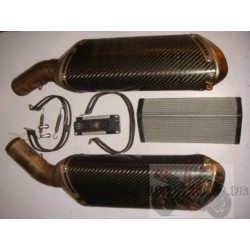 Kit TERMI carbone + filtre + ECU de 848