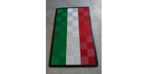 tapis drapeaux, a bandes et replica